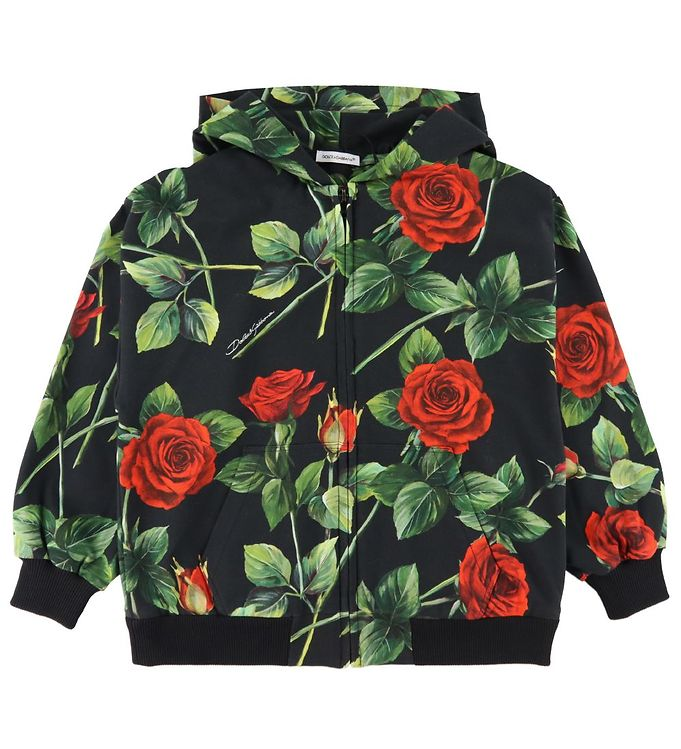 Dolce & Gabbana Cardigan - 90's - Sort m. Roser