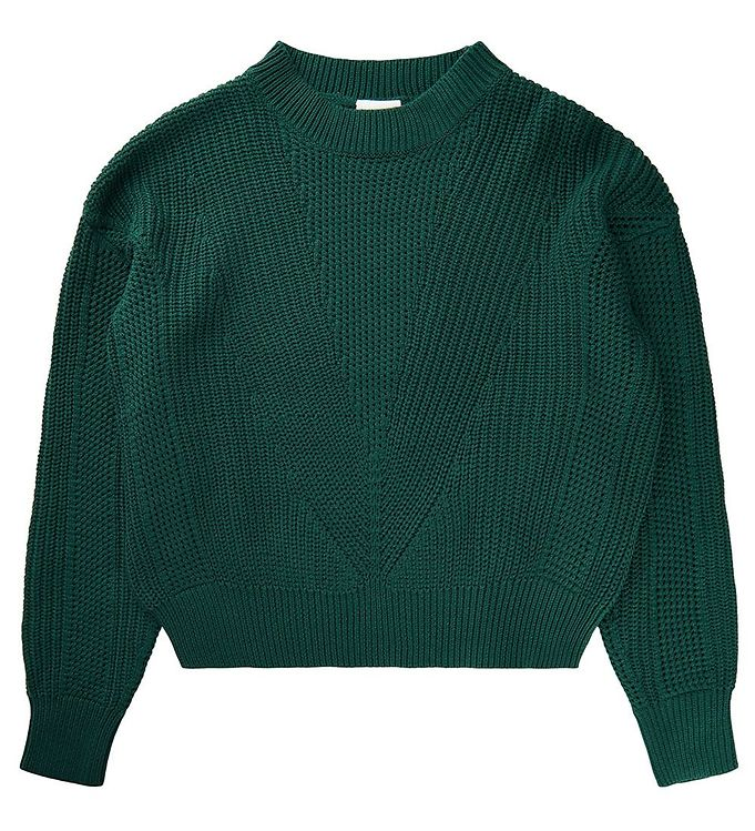 Image of The New Bluse - Strik - Vally - Forest Green (EB559)