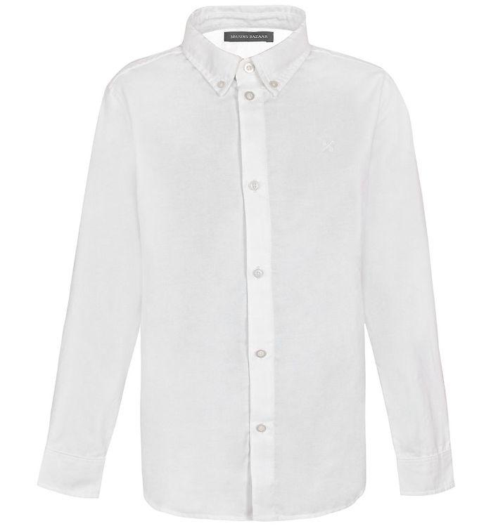 Image of Bruuns Bazaar Skjorte - Kaj-Holger - Off White (EB716)