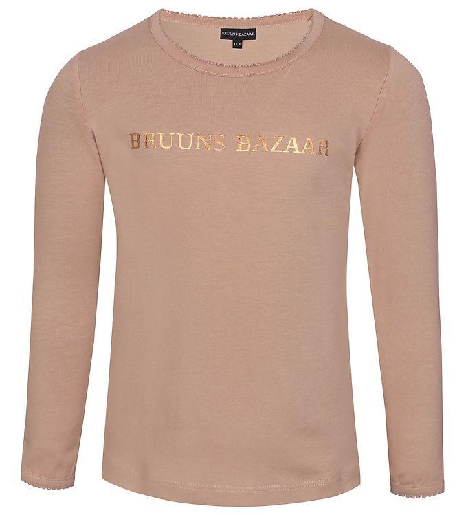 Image of Bruuns Bazaar Bluse - Marie Louise - Tuscany Rose (EB724)