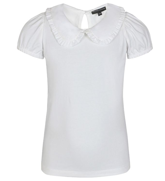 Image of Bruuns Bazaar T-shirt - Marie Louise - Off White (EB726)