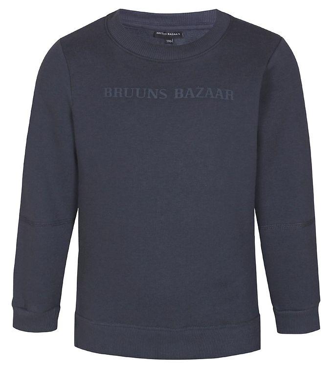 Image of Bruuns Bazaar Sweatshirt - Hans Otto - India Ink (EB729)