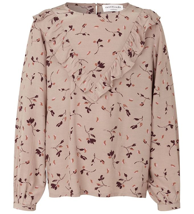 Image of Rosemunde Bluse - Clay Day Flower Print (EB909)
