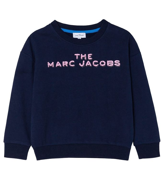Image of Little Marc Jacobs Sweatshirt - Snow Day In NY - Navy (EC609)