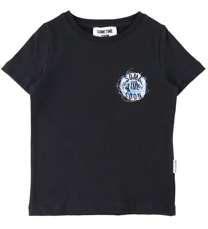 Image of Sometime Soon T-Shirt - Revolution - Black (ED322)