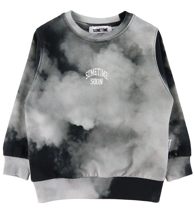 Image of Sometime Soon Bluse - Cloud - Black (ED327)