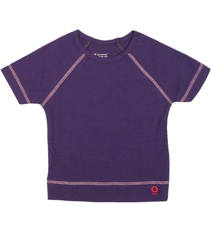 Image of Katvig T-shirt - Lilla (HE315)