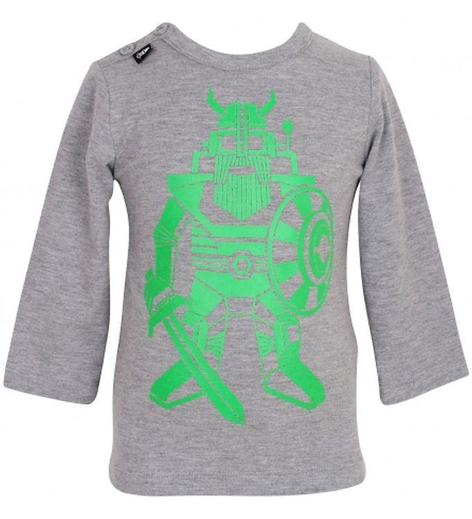 danefa-bluse-graa-m-gron-robot-viking