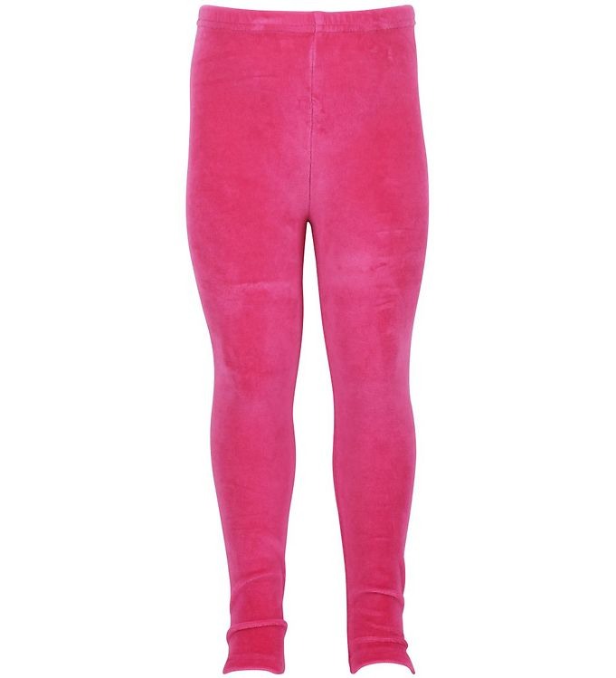 Image of Danefæ Velourleggings - Pink (HL736)