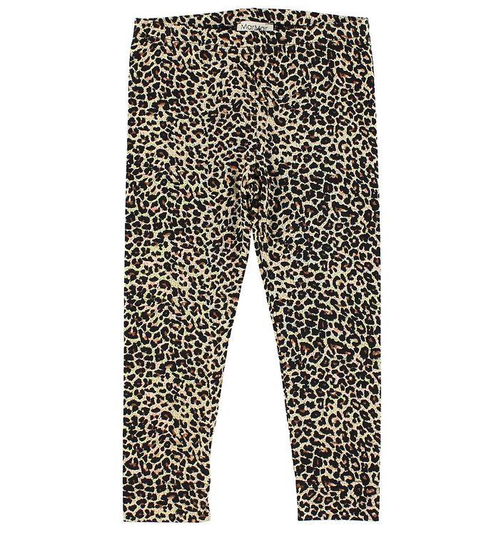 Billede af MarMar Leggings - Brun Leopardprint
