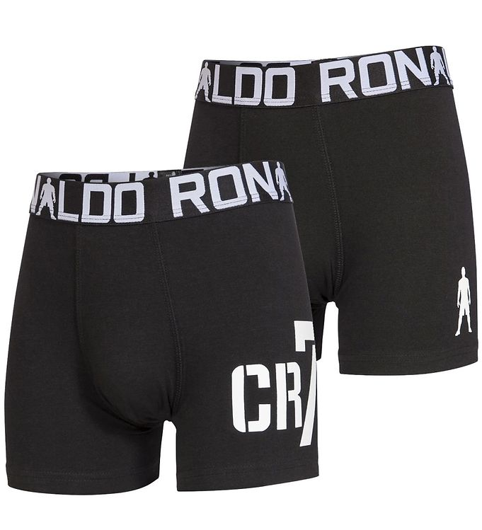 Image of Ronaldo Boxershorts - 2-pak - Sort (HP526)