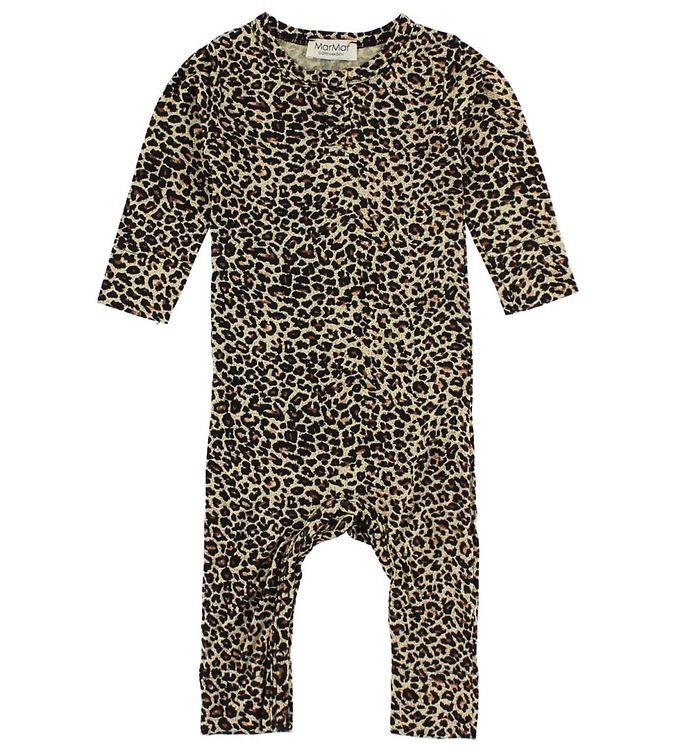 Billede af MarMar Heldragt - Brun Leopardprint
