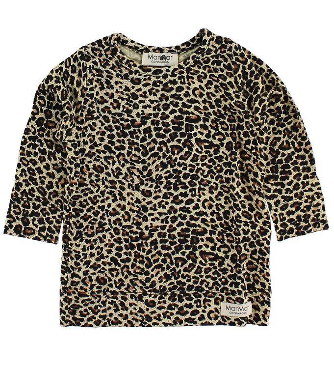 Billede af MarMar Bluse - Brun Leopardprint