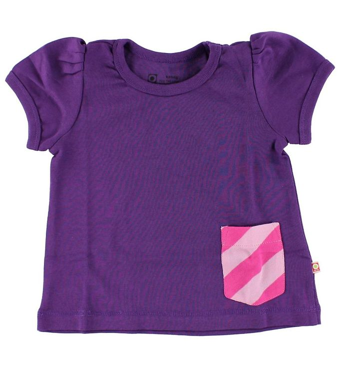 Image of Katvig T-shirt - Lilla m. Lomme (HT274)