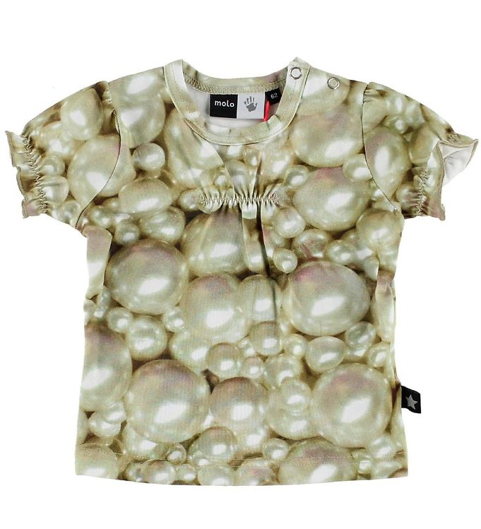 Image of Molo T-shirt - Ree - Pearls (IC290)