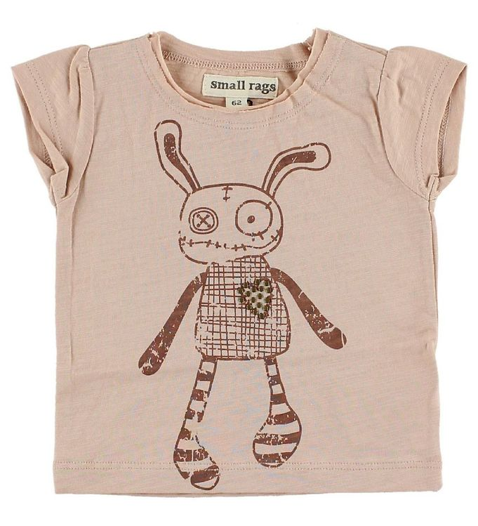 Image of Small Rags T-shirt - Rosa m. Mr. Rags (IC455)
