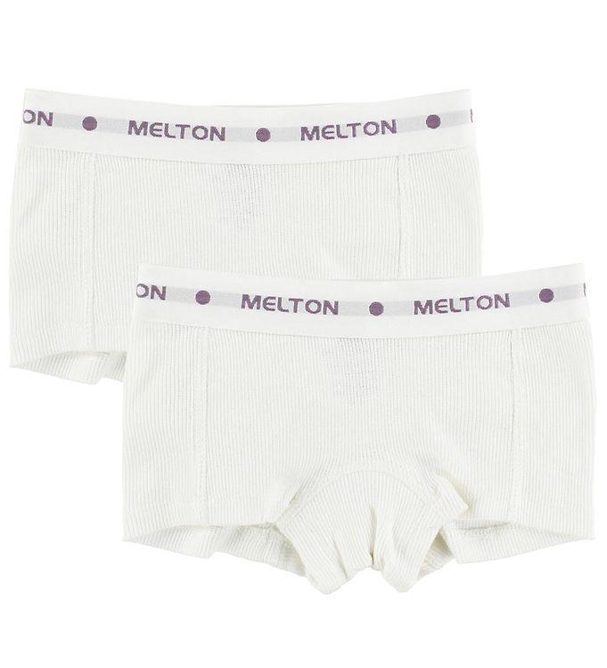 Image of Melton Hipsters - 2-pak - Creme (ID417)