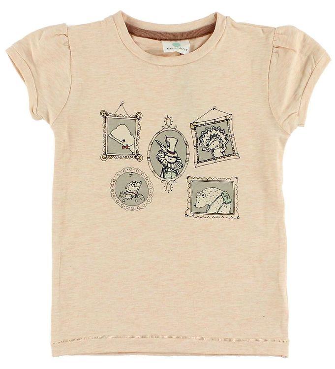 Image of En Fant T-shirt - Ferskenmeleret m. Portrætter (IE339)