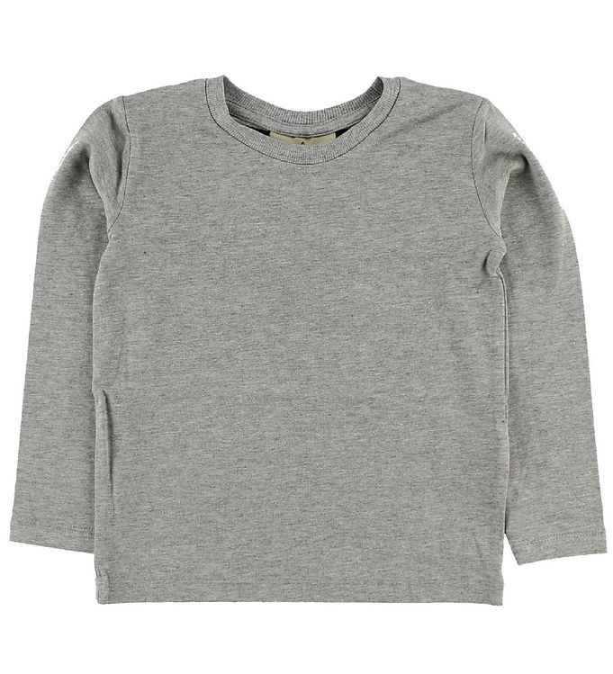 Image of Nordic Label Bluse - Gråmeleret (IE450)