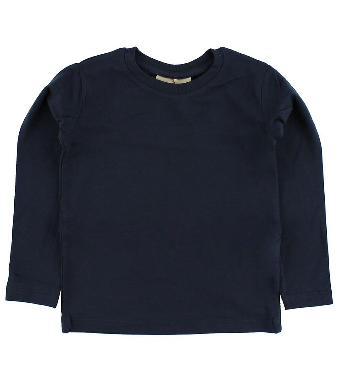 Image of Nordic Label Bluse - Navy (IE455)