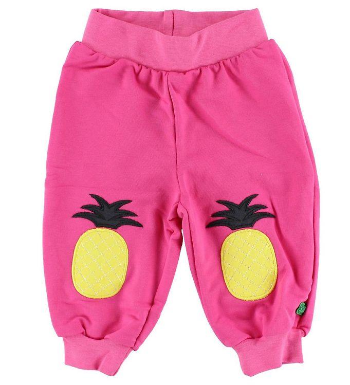 Image of Freds World Bomuldsbukser - Pink m. Ananas (IG221)
