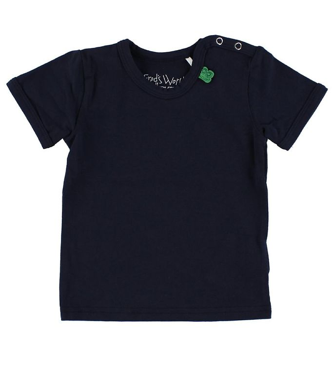 Image of Freds World T-shirt - Navy (IG724)