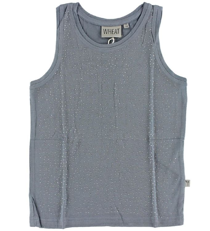 Wheat Wheat Top - Grey Blue m. Similisten