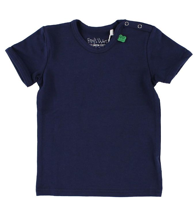 Image of Freds World T-shirt - Navy (IH785)