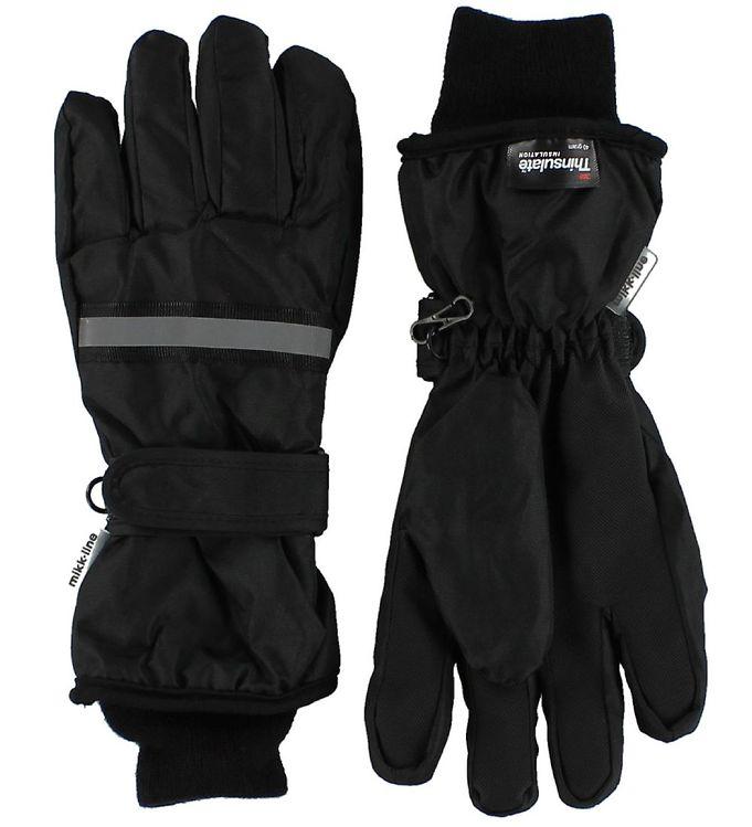 Mikk-Line Handsker – Sort m. Refleks