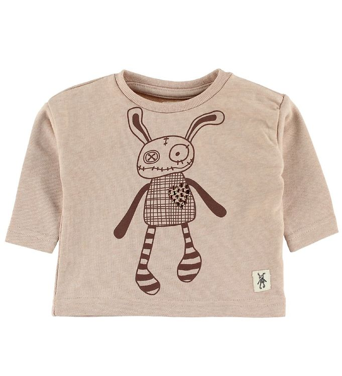Image of Small Rags Sweatshirt - Rosa m. Mr. Rags (IM746)