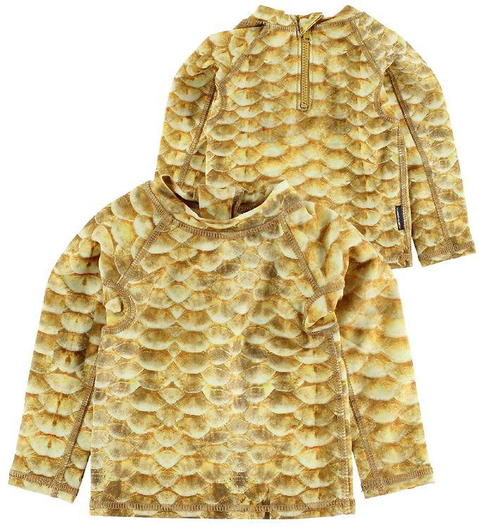 Image of Molo Badebluse - UV40 - Nemo - Gold Fishshell (IN980)
