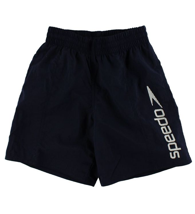 Image of Speedo Badeshorts - Challenge 15 - Navy m. Hvid (IS150)