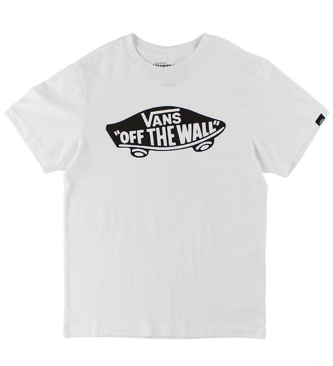 Vans T-shirt - Hvid m. Print