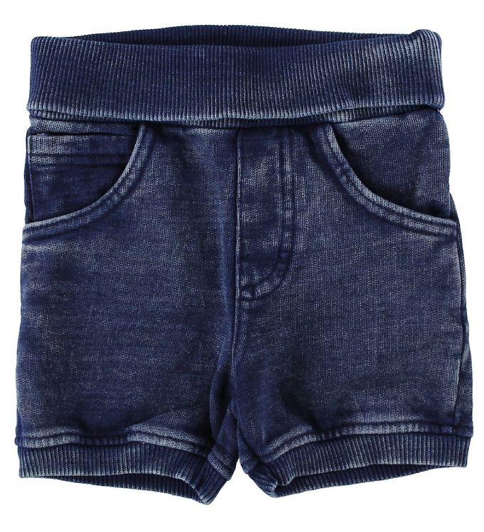 Image of Fixoni Shorts - Mørk Denim (IU409)