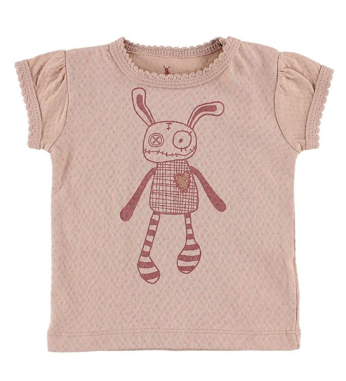 Image of Small Rags T-Shirt - Rosa m. Mr. Rags (IZ481)