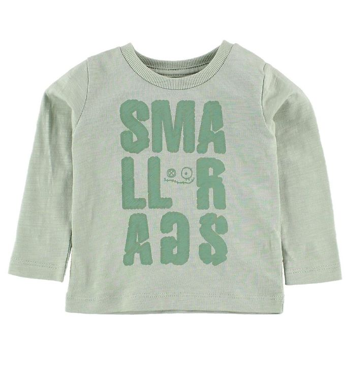 Image of Small Rags Bluse - Mint m. Print (IZ490)