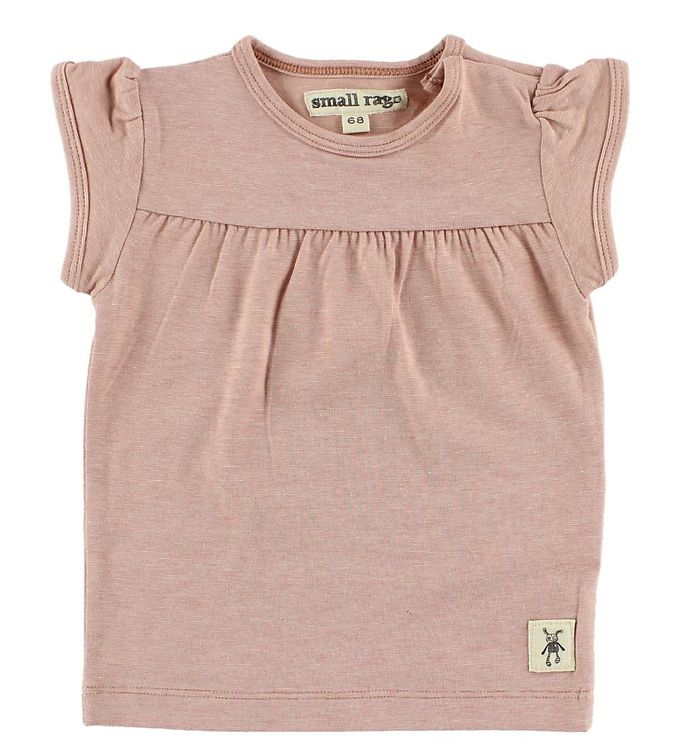 Image of Small Rags T-Shirt - Støvet Rosa (JA523)