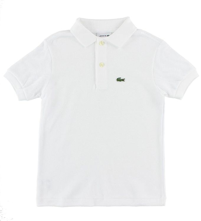Lacoste Polo - Hvid