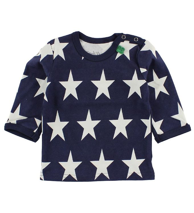 Image of Freds World Bluse - Navy m. Stjerner (JB845)