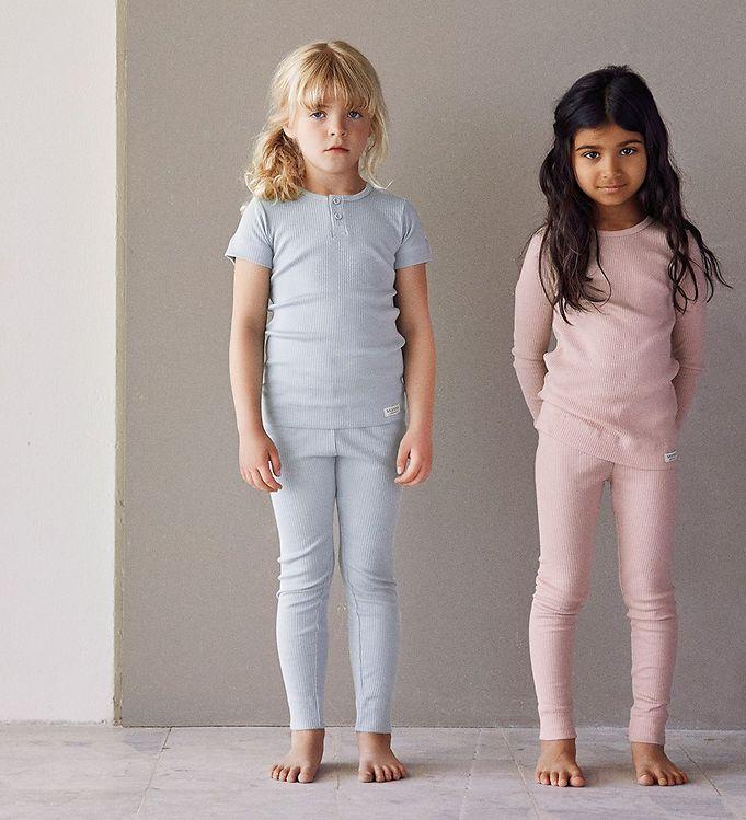 99f35326 MarMar Bluse - 2x2 Rib - Rosa - Gratis fragt til Danmark hos Kids ...