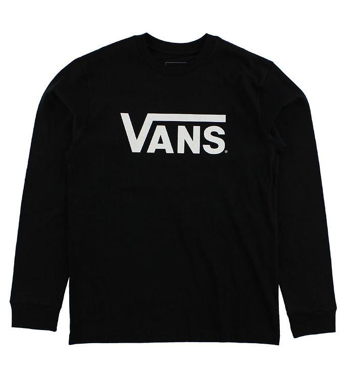 Image of Vans Bluse - Sort m. Hvid Logo (JC825)
