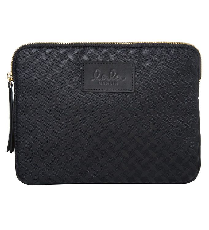 Image of Lala Berlin iPadcover - iPad Case Kufiya Nylon - Black (JE189)
