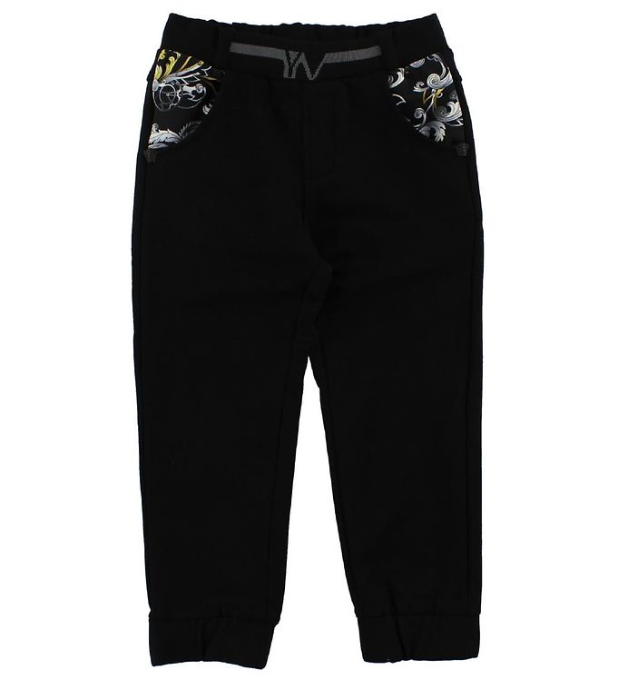 Image of Young Versace Sweatpants - Sort (JE279)