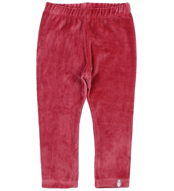 Image of Danefæ Leggings - Velour - Mørk Rosa (JG371)