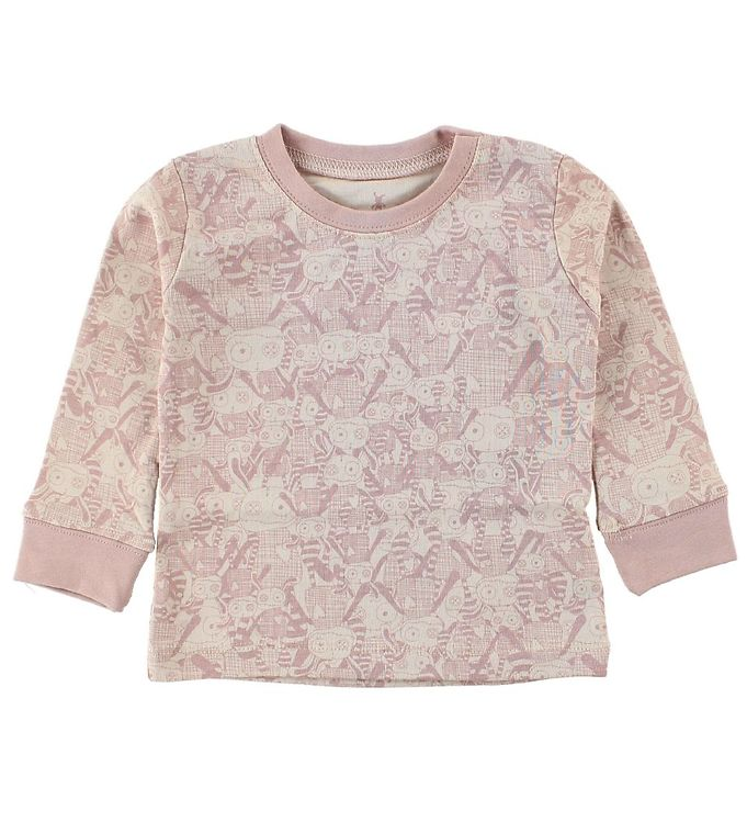 Image of Small Rags Bluse - Lys Rosa m. Mr. Rags (JG631)