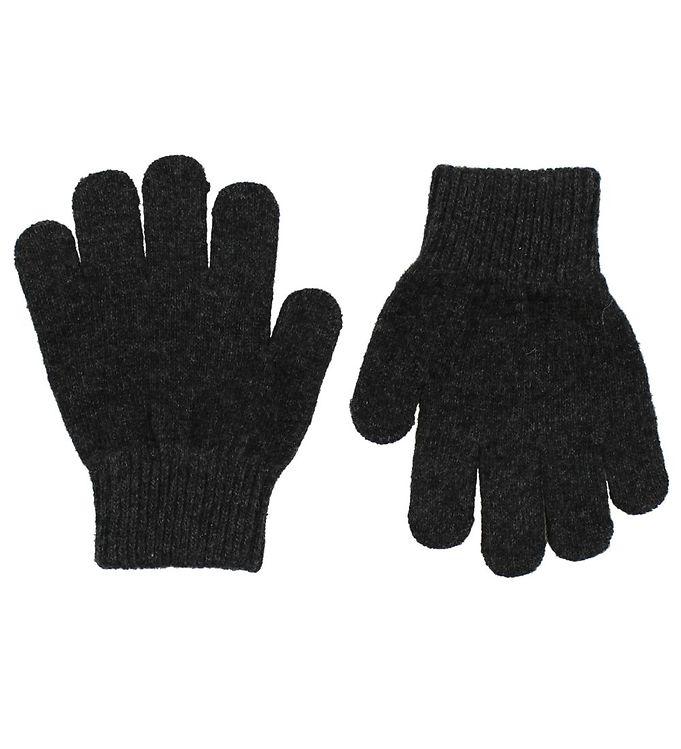 Mikk-Line Tryllehandsker – Polyester/Uld – Koksgrå