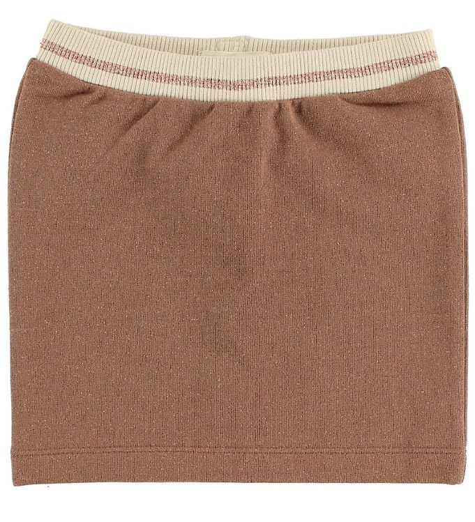 Image of Small Rags Nederdel - Cognac m. Glitter (JH875)