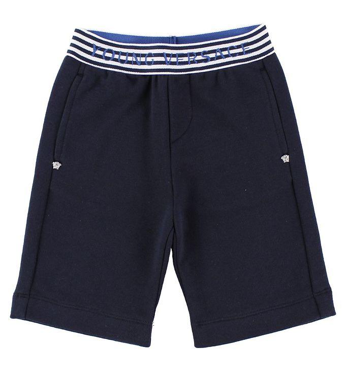 Image of Young Versace Shorts - Sweat - Navy (JL701)