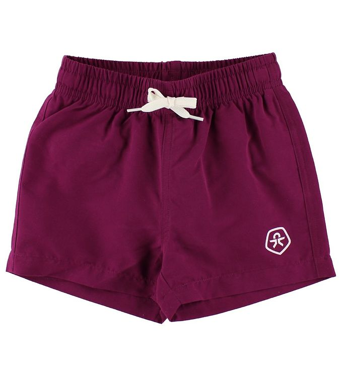 Image of Color Kids Badeshorts - Bungo - Bordeaux (JM856)