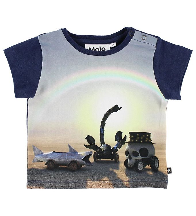 Image of   Molo T-Shirt - Eddie - Black Rock City